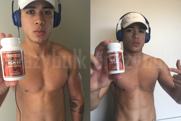 hgh-x2 before after