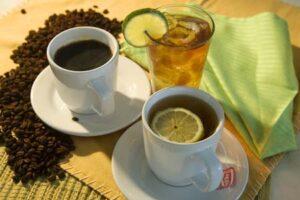 drink coffee tea